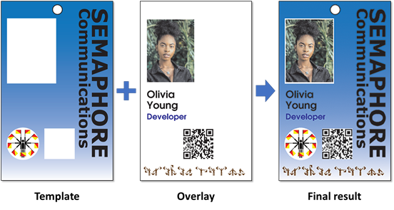 Printing Example ID cards
