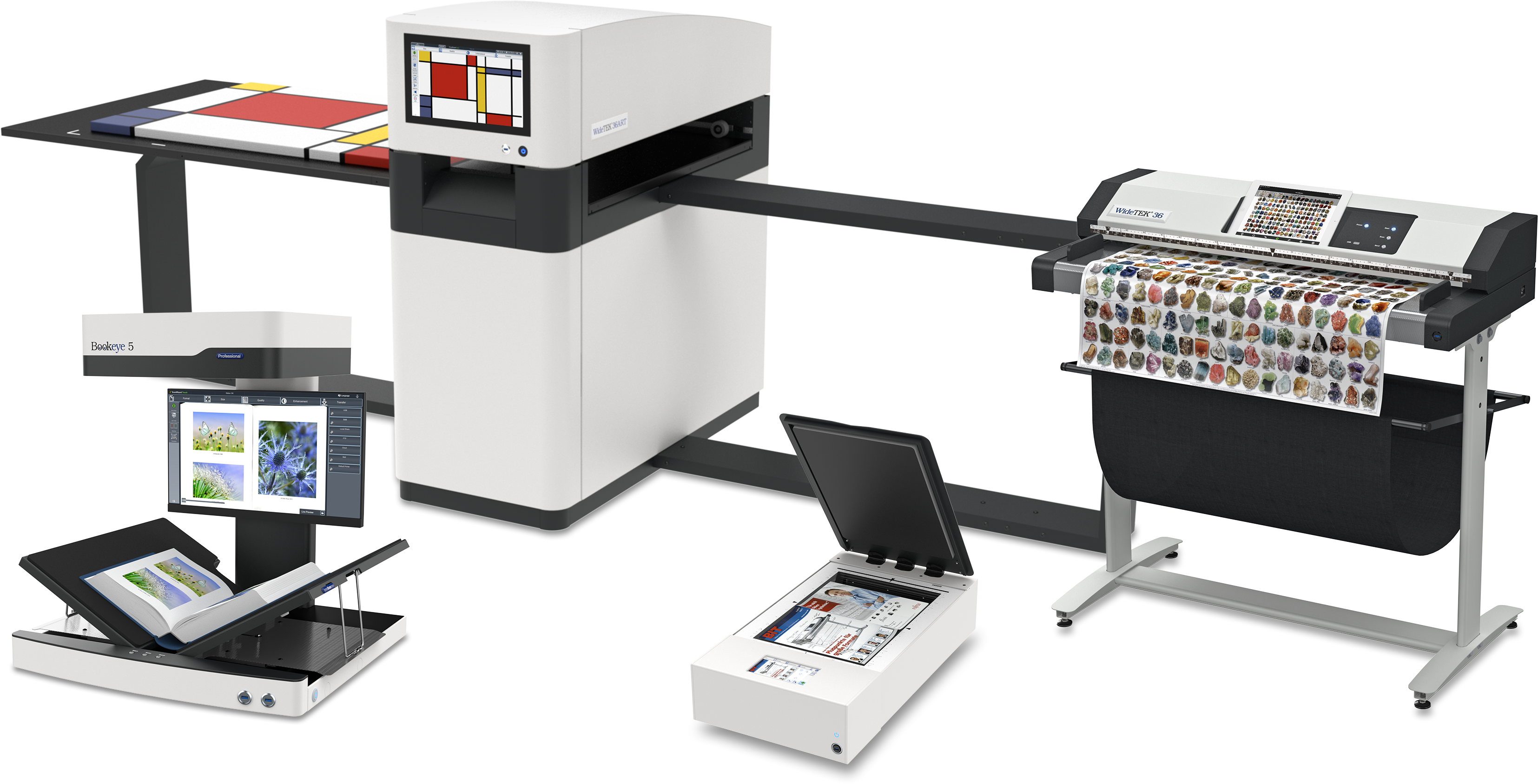 Image Access offers book, flatbed, sheetfeed, duplex & art scanners for digitizing large format originals for archives, libraries, museums & industry.